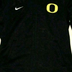 Oregon zip up warmup jacket